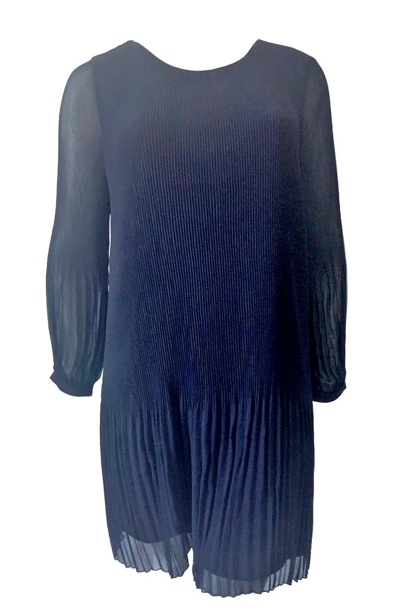 Платье гофре из шифона