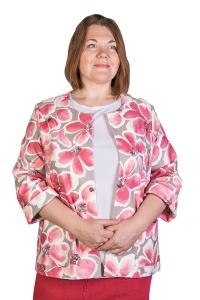 Жакет джинсовый