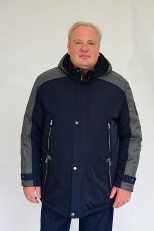 Куртка демисезонная, т.синего цвета, арт 25120