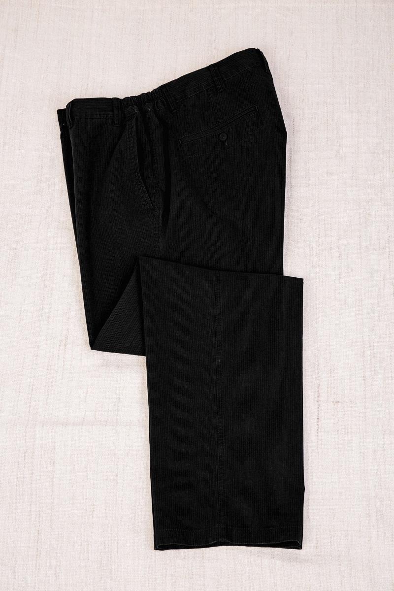 Слаксы боковая резинка, арт.26123/3 черные