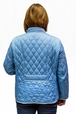 Куртка голубая