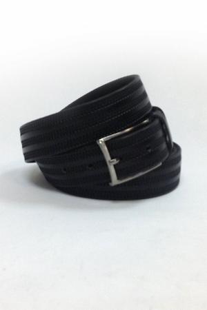 Ремень м черный зигзаг 683 (170-180см)