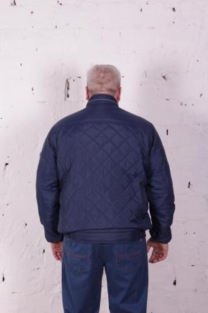 Куртка стежка короткая, т.синего цвета, арт 25137