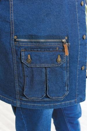 Жилет джинсовый, арт.2207