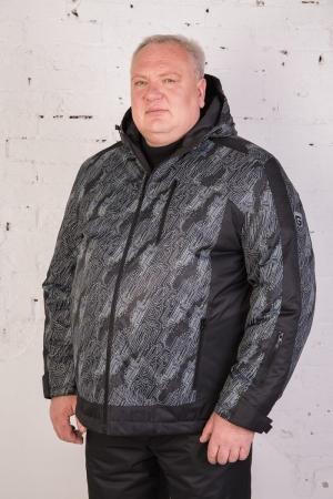 Куртка 25144 серый