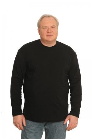 Лонгслив черного цвета, арт 40140/1