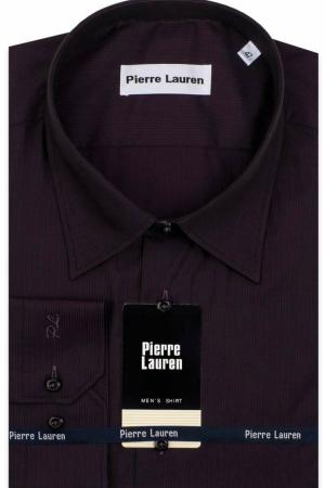 Сорочка мужская дл рукав 1227 фиолет полоса