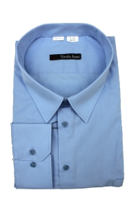 Сорочка мужская дл рукав 21Б2-0110 голубой