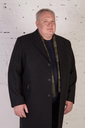 Пальто арт.2321 черного цвета