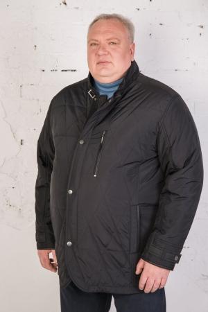 Куртка на тонком слое синтепона, длинная