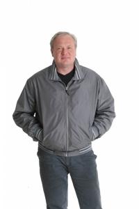 Куртка ветровка 2586/1 серая