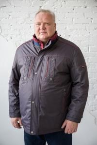 Куртка серого цвета, арт 25150/2