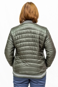 Куртка «бомбер» т.зеленая