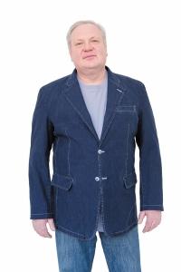 Пиджак джинсовый на подкладке