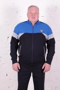 Костюм спортивный трикотажный, т.синего цвета, арт 7044