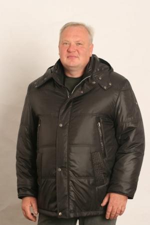 Куртка зимняя, черная, арт 25100