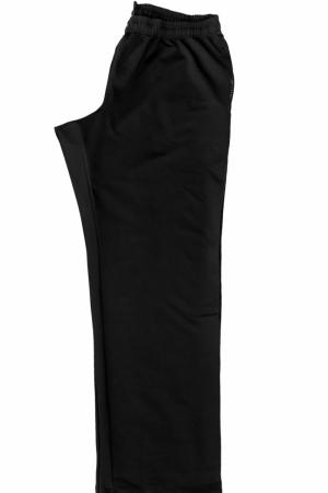 Брюки спортивные, черного цвета, арт 3130