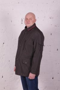 Куртка ветровка т.серого цвета, арт 25133/1